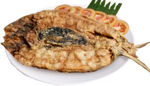 Fried Boneless Bangus (serves 2-3)