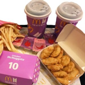 BTS Mcdonald Meal x2