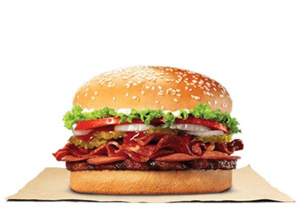Pepperoni Bacon Whopper Solo
