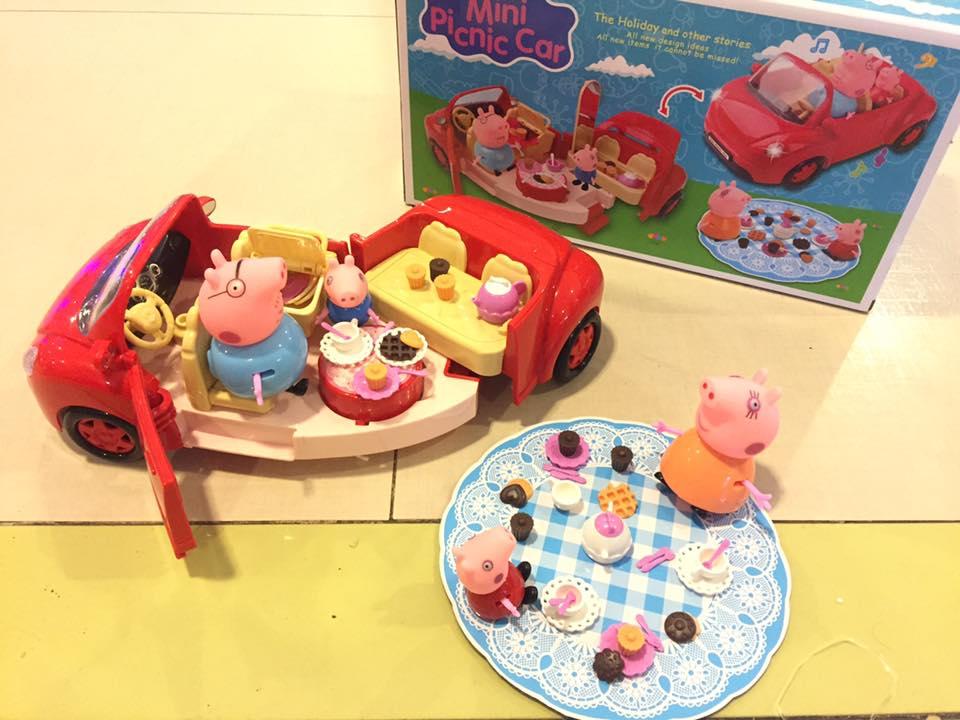 Kid's Mini Picnic Car