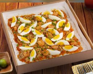 Party Size Palabok with Sisig Topping