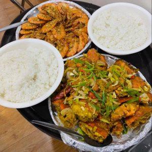 Shrimp Bilao and Crab Bilao Seafood