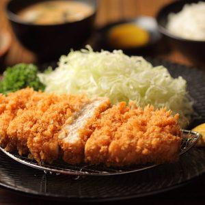 Yabu Chicken Katsu Set Japanese cuisine