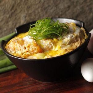 Yabu Original Japanese Katsudon-Hire Pork Tenderloin Bowl