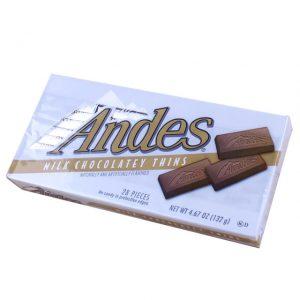 Andes Milk Chocolatey Thins 132g