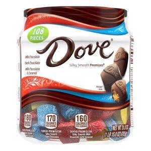 Dove Promises Chocolate Variety Mix 878.9g