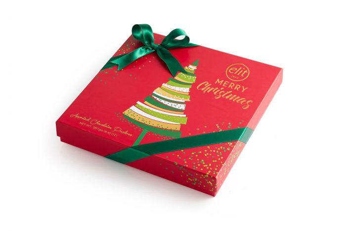 Elit Merry Christmas Assorted Pralines Chocolate 267g