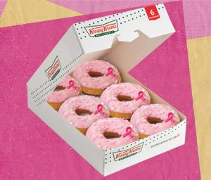6 Pre-Assorted New Think Pink Donuts