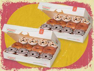 24 NEW Holiday Cinnamon Glaze Donuts