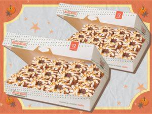 24 NEW Krispy Kreme Pumpkin Spice Donuts