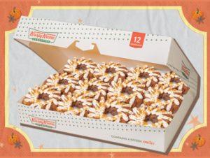 12 Krispy Kreme Pre-Assorted NEW Pumpkin Spice Donuts