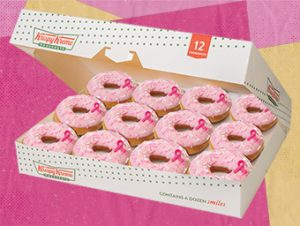 12 New Think Pink Donuts