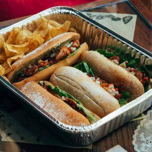 Chicken Inasal Sandwich with Wansoy Salsa