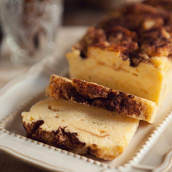 Mary Grace Ensaymada Bread Pudding - Whole