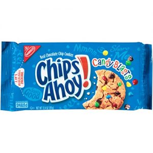 Nabisco Chips Ahoy! Candy Blasts Cookies Family Size 535g