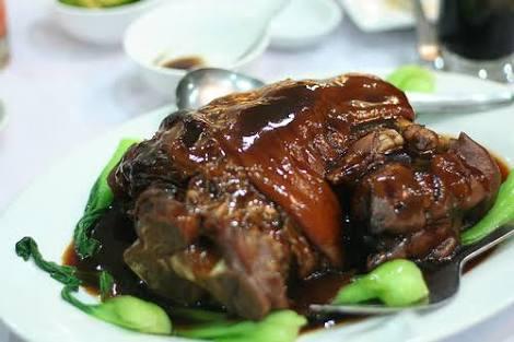 Pata Tim (Braised Pork Leg): Serves 3-4