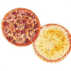 """SnR All Meat Deli pizza plus 18"""" Classic Cheese Pizza"""
