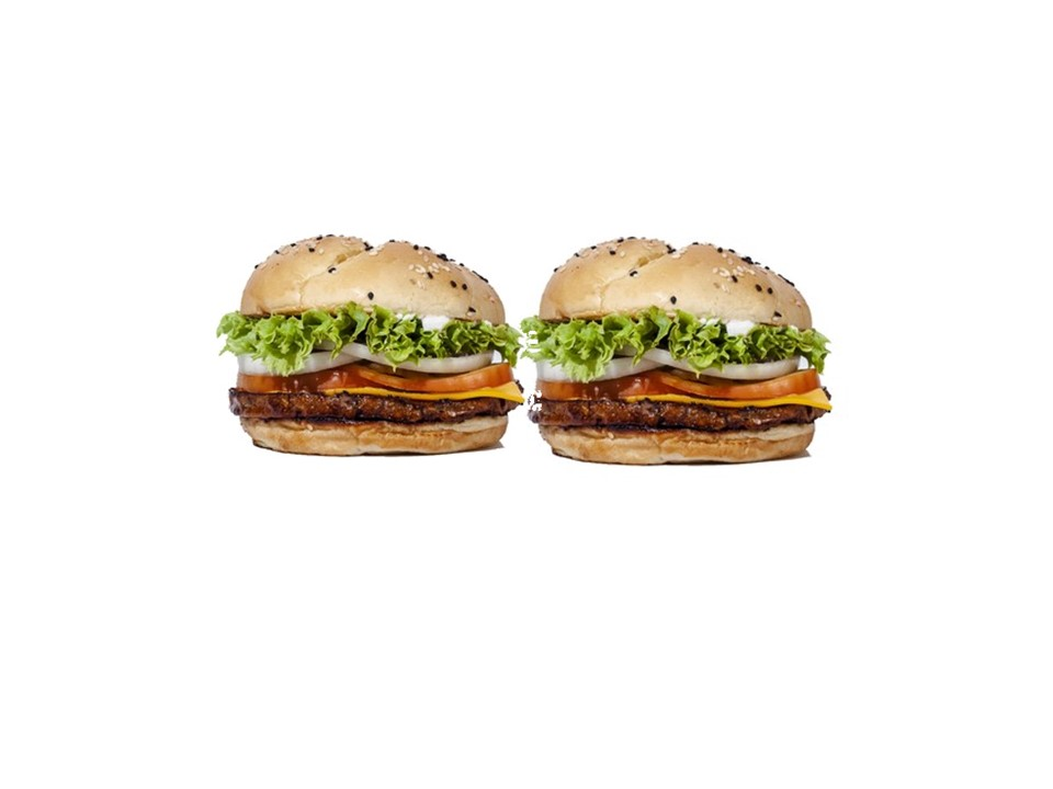 2 Meat-Free Quarter Pounders made with plant protein